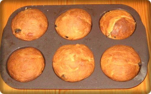 Muffiny drożdżowe
