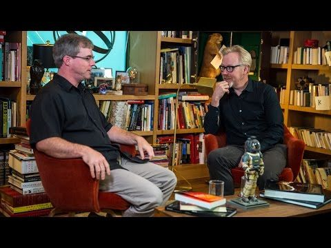 THE MARTIAN Author Andy Weir Visits THE TALKING ROOM with Adam Savage | Nerdist