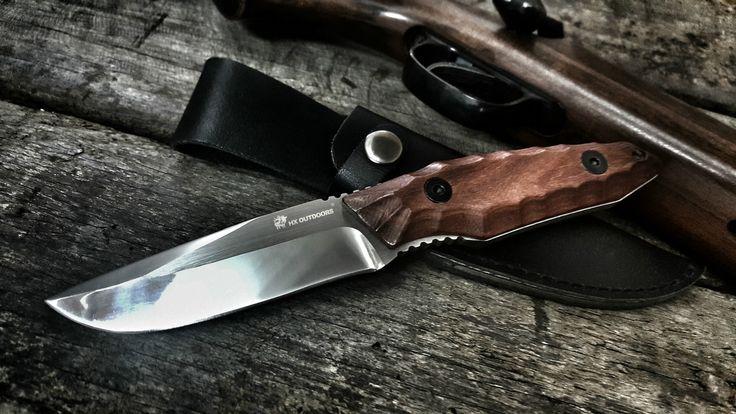 HX НА ОТКРЫТОМ ВОЗДУХЕ фиксированным лезвием прямой нож нож палисандр ручка 5Cr15Mov нож кемпинг ручной инструмент выживания охотничий ножкупить в магазине HX OUTDOORS 100% StoreнаAliExpress