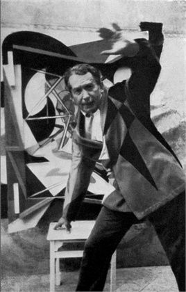 Giacomo Balla. (1871-1958). As a futurist painter, Balla envokes motion into his artwork and often uses very bright colours to contrast with the dark negative space.