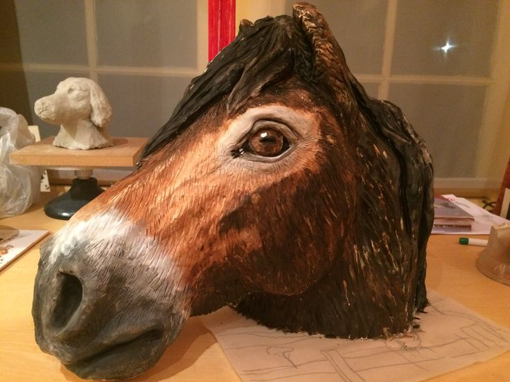 Fir the exmoor pony, now painted