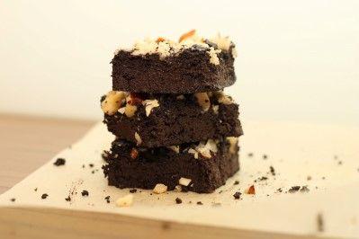 Nízkosacharidové brownies /Low-carb brownies/ Bezlepkový a nízkosacharidový zdravý recept /Gluten free and low carb healthy recipe/