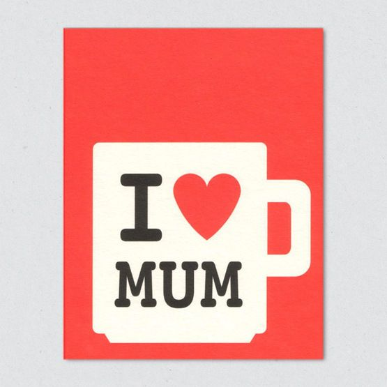 Lisa Jones studio mum mug greeting card £2.25!