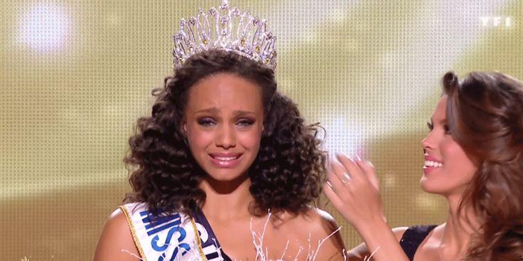 Miss France 2017 est Miss Guyane #AliciaAylies, #IrisMittenaere, #MissFrance2017