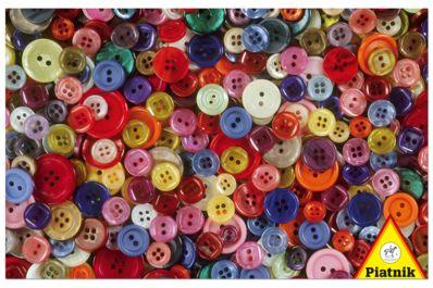 Botones. Puzzle de 1000 piezas de Piatnik.