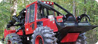 Pialleport a fêté ses 30 ans et ses 300 tracteurs forestiers. Pour l'occasion, la société de Saint-Siméon-de-Bressieux a présenté un tout nouveau modèle de débusqueur.