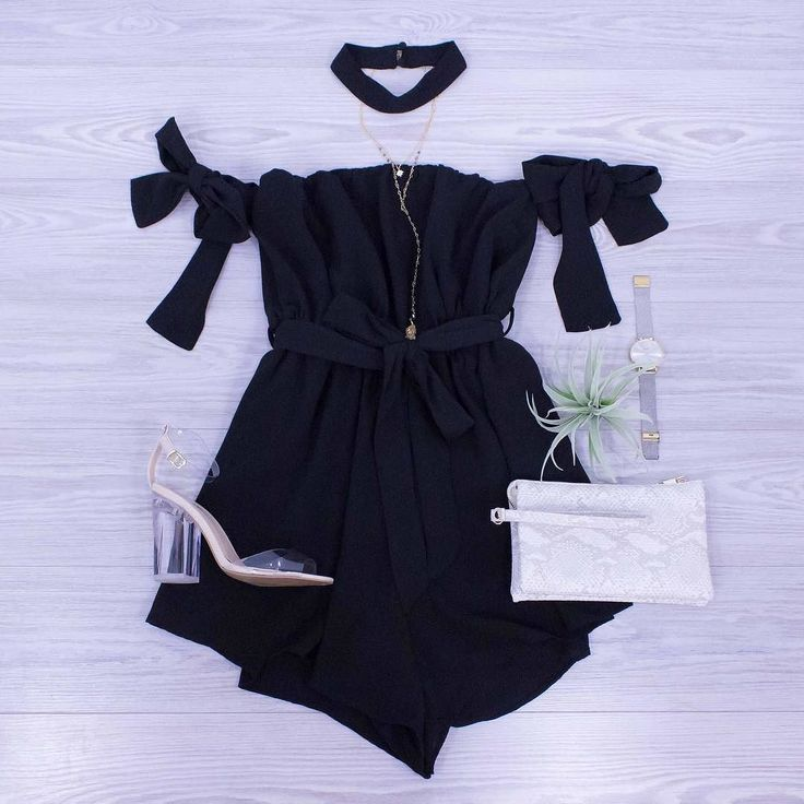 Schedule A Girls Night Out Soon.  You'll have the perfect outfit for it. Shop this Romper and these sale shoes online. www.shopelysian.com New! Darling For Date Night Romper $46. online  in-store. All Star Necklace $22. in-store only. @cluse La Boheme Mesh Gold/Silver Watch $96. in-store only. Crossbody Clutch $28. in-store only. Clearly In Style Heel NOW $21. online  in-store. #WearElysianDaily http://ift.tt/2tMDlip Schedule A Girls Night Out Soon.  You'll have the perfect outfit for it…