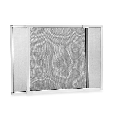 This adjustable window screen is ideal for homes, cabins, boats, and even RV's. Each screen expands from 20 inches to 37 inches in width. The perfect way to keep insects out and allow for natural ventilation.