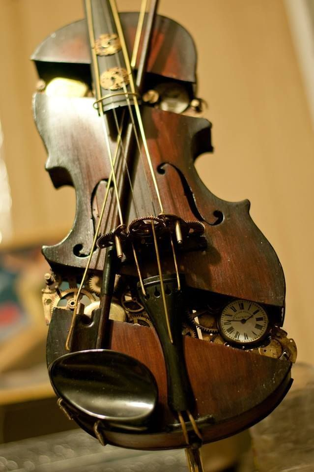 Mechanical Violins Steampunk ☮k☮ Steampunk