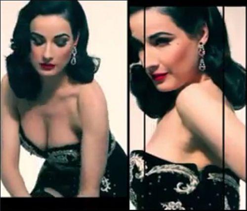 Dita Von Teese 's Amazingness in BWATT Magazine -Video- #ditavonteese #corset #gloves #fetish #pinup #burlesque #video