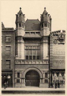 Bishopsgate Institute, Charles Harrison Townsend