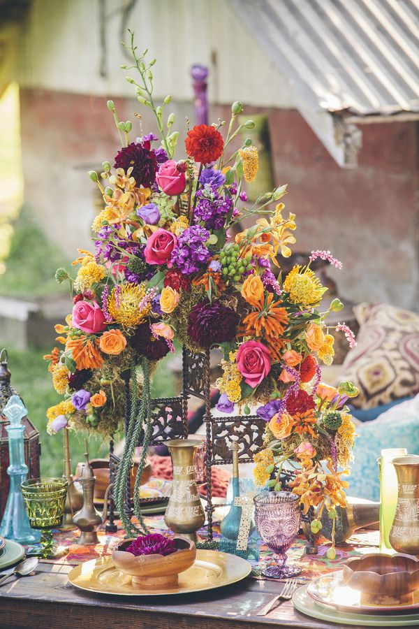 Moroccan Inspired Wedding Ideas