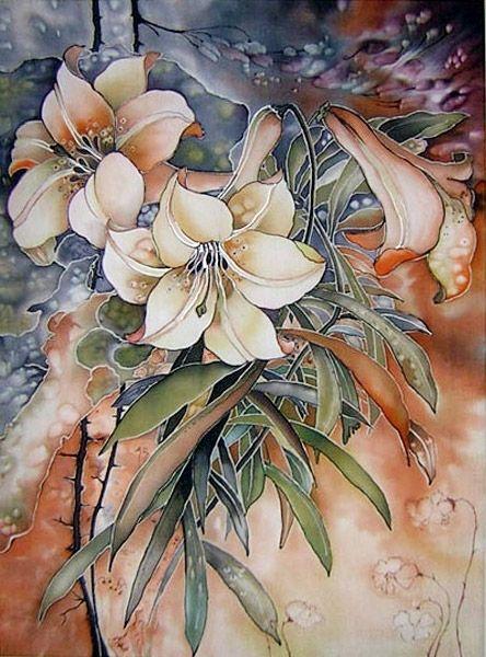 = Batik Galerie Marina Ivannikova. Peinture sur soie =. Discussion sur LiveInternet - service russe Diaries en ligne