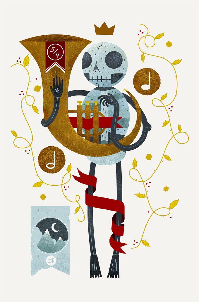 #Skeleton #sound by Scott Benso