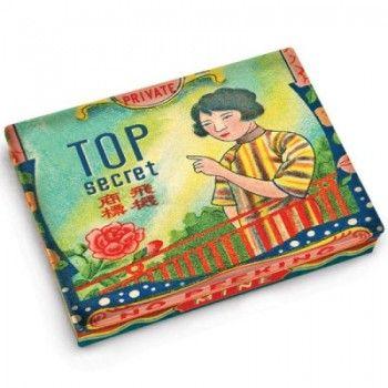 BOX POCKET TOP SECRET