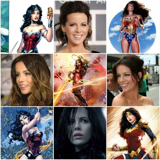 Kate beckinsale as wonder woman