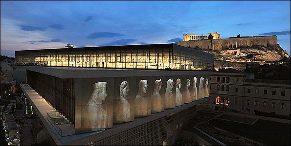 Κτίρια-σύμβολα της Αθήνας Νέο Μουσείο της Ακρόπολης