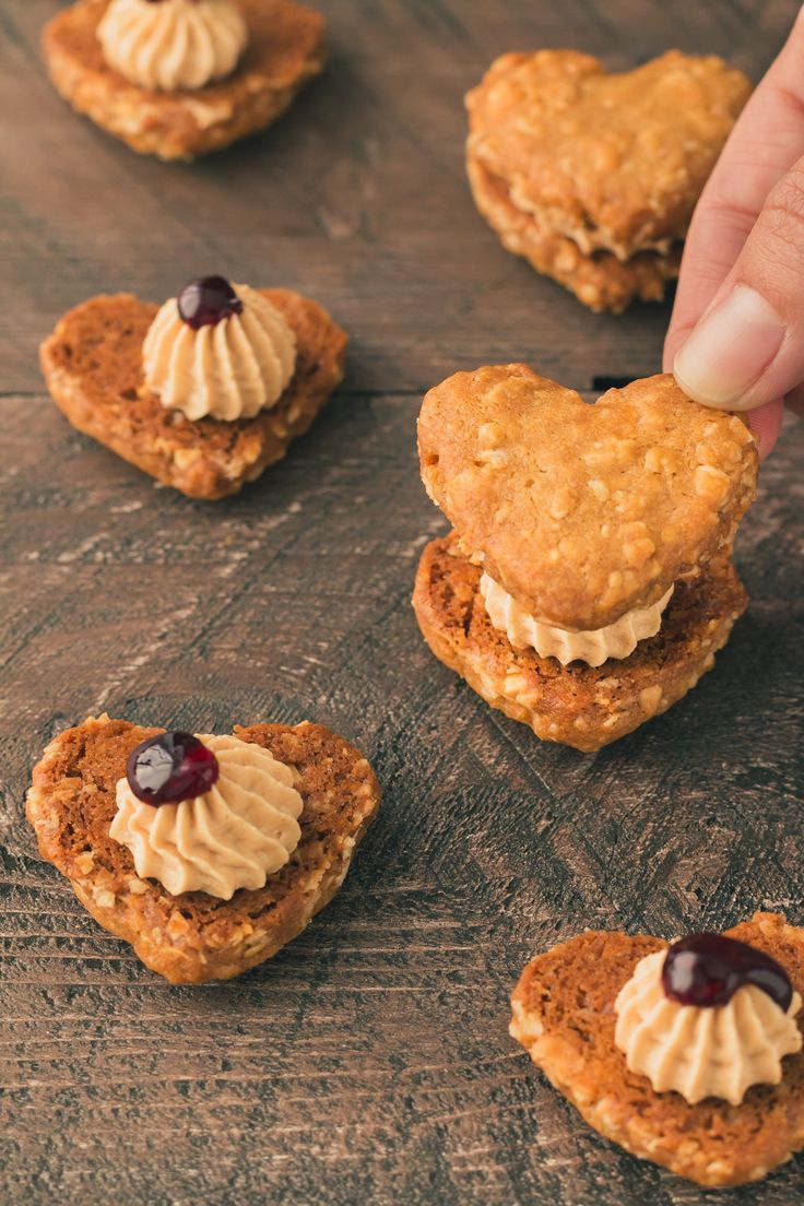 Peanut Butter and Jelly Sandwich Cookies - THE ROAD TO HONEY