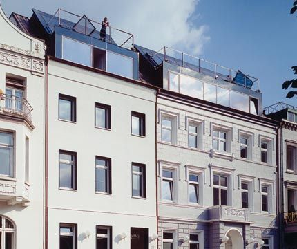 An der Alster 37 + 38: GAWS-Architekten, Hamburg