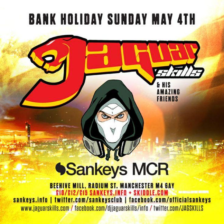 Jaguar Skills & His Amazing Friends Tickets | Sankeys Manchester, Manchester
