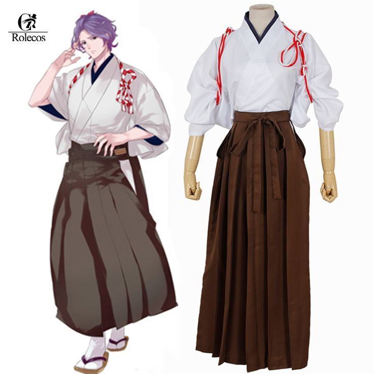 Free Shipping Touken Ranbu Online Kasenkanesada Cosplay Men Anime Japanese Kimono Cosplay Costume(Top+Pant) #Affiliate