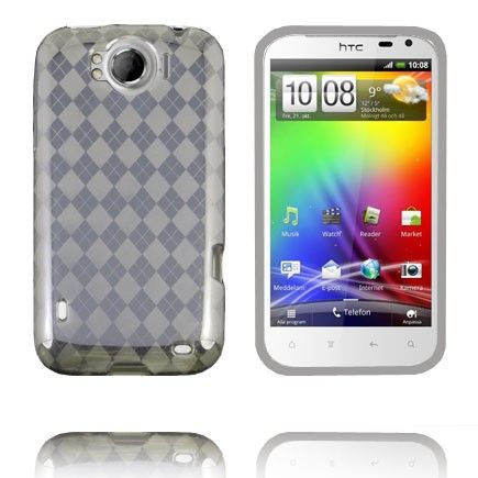 Tuxedo (Sort) HTC Sensation XL Deksel