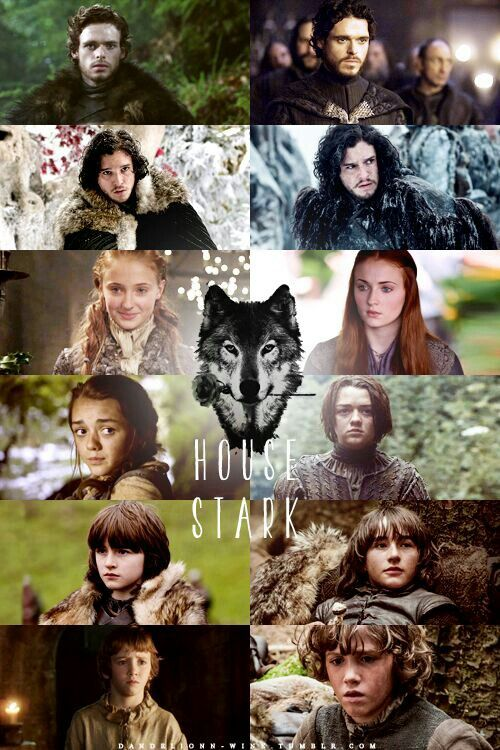 Game Of Thrones Stark Familie