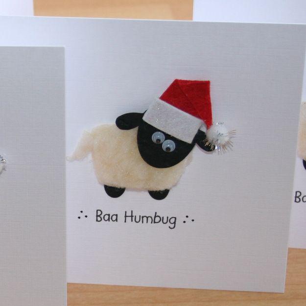 xmas card sheep | ... cards religious celebrations scottish cards sheep sheep and more sheep