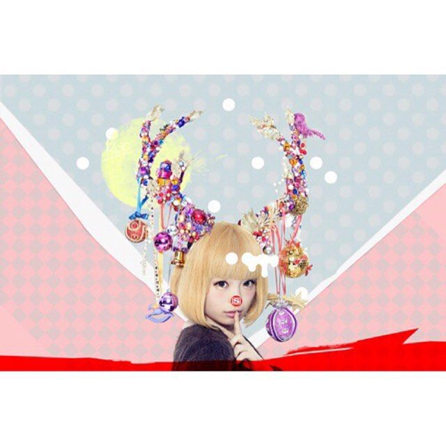 "12月の到来🎄🎄 ヘッドピースをSAKIE.が製作しました。 スペースシャワーのクリスマス。 . music channel""SPACE SHOWER TV""'s Christmas visual. Head piece made by SAKIE. #SAKIE #wigsakie #sakiewig #headpiece #cubemanagementoffice #Christmas #きゃりーぱみゅぱみゅ #spaceshowertv #visual"