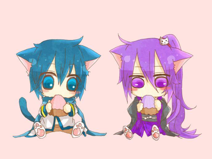 DeviantArt: More Like Vocaloid Gakupo kaito Cute neko Gif ...