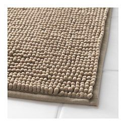 IKEA - TOFTBO, Bath mat, Ultra soft, absorbent and quick to dry since it's made of microfibre.