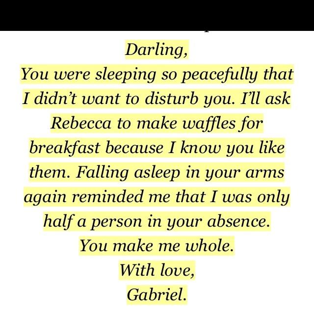 Awww Gabriel Emerson from Gabriel's inferno
