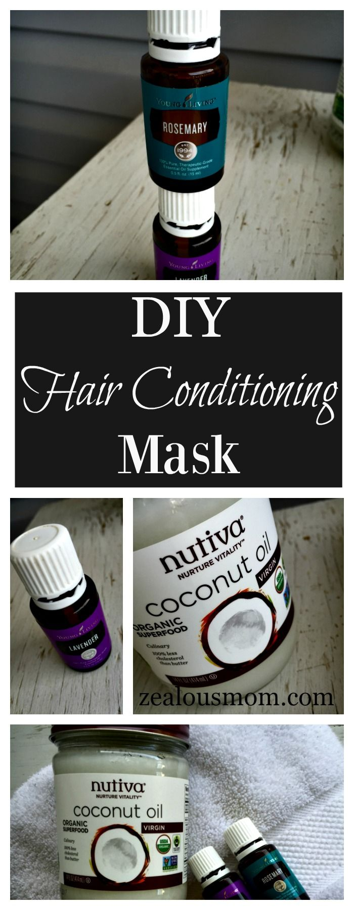 DIY hair conditioning mask – DIY