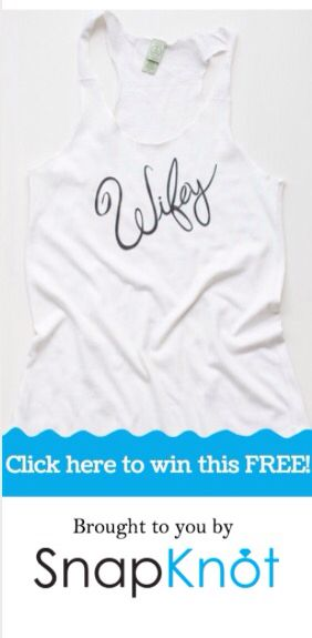 Win a free sweatshirt and tank top!!  @SnapKnot