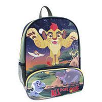 """Disney Lion Guard """"All for One"""" 3D Design 14 Inch Backpack"""