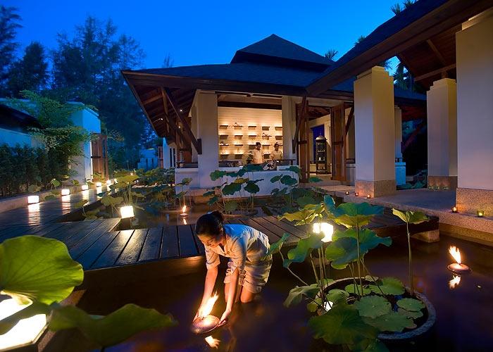 Lights at Anantara Spa Si Kao in Krabi, Thailand