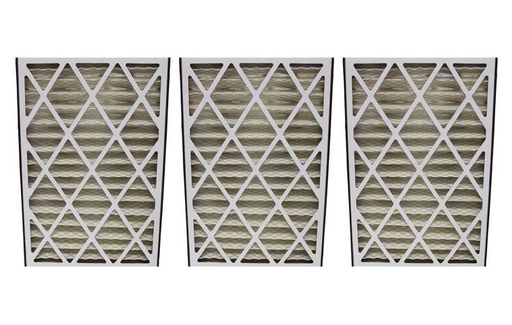 3 Lennox 16x25x3 MERV-8 HVAC Filters Fit BMAC-12C   Part # X0581