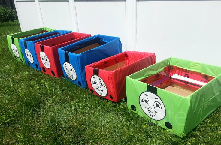 Thomas The Train Engine and Friends Ride In Toys - Perfect for a Train Party Games! - Little Miss Kate | Little Miss Kate
