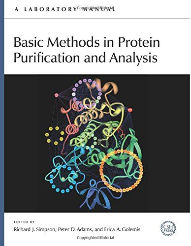 Basic Methods in Protein Purification and Analysis: A Laboratory Manual:   Understanding how proteins function is an essential part of many biological research endeavors. The complexity and sheer number of proteins in a cell are impediments to identifying proteins of interest or purifying proteins for function and structure analysis. Thus, reducing the complexity of a protein sample or in some cases purifying a protein to homogeneity is necessary. The latest manual in the Basic Methods...