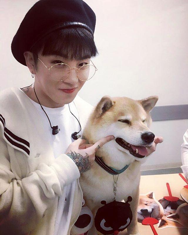 """160801 #Taeil IG update """"마루야~~~~~♡"""" #BlockB"""