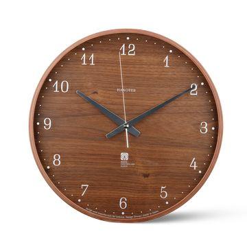 Lemnos/電波時計 Brownie 10500yen シンプルなプライウッドの壁掛け時計