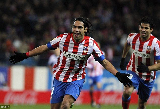 Radamel Falcao grabs FIVE goals in one game to rival Messi for the spotlight on his historic day...