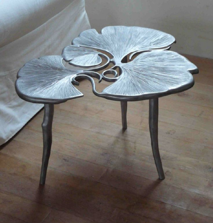 Claude Lalanne / ginko leaf table / Sacred Spaces <3