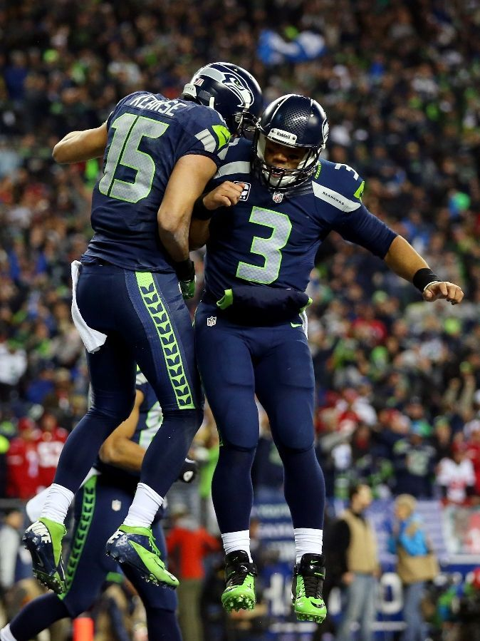 Seattle Seahawks Team Photos - ESPN. Jermaine Kearse (15) and Russell Wilson (3).