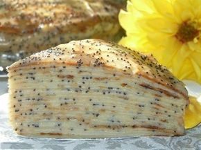 """Блинный торт """"Маковка"""" с заварным кремом - просто и безумно вкусно!"""