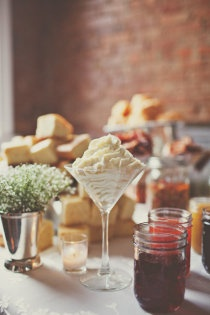 Cornbread and Grits Bar by Red Pony Catering. Photo by Teale Photography (http://tealephotography.net/index2.php#/home/)
