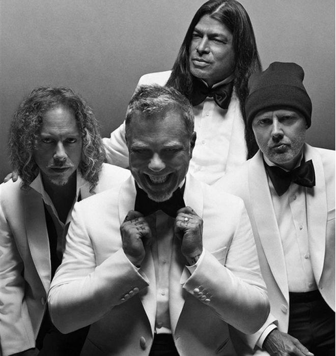 Los integrantes de Metallica se estrenan como modelos | Moda | EL MUNDO