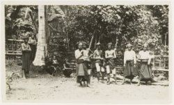 The Kajang Ammatoa in Bulukumba, where I do my research. This photo was taken in 1931 by colonial linguist A. Cense while studying the tribe.