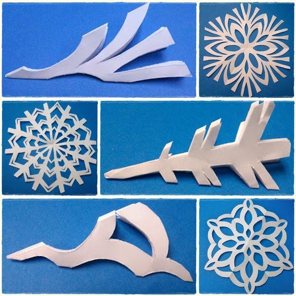 Fiesta Frozen: Como hacer un copo de nieve con papel » Wonkis Diseños