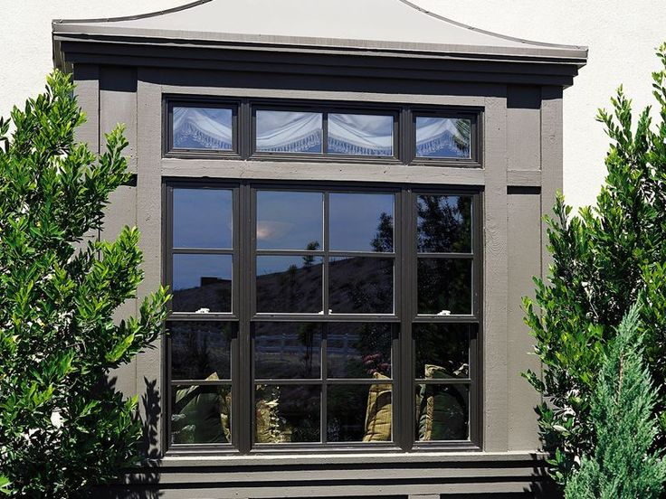 Milgard essence onyx exterior with true divided lites for Milgard fiberglass windows reviews